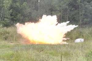 Wybuchowe szkolenie w Straży Granicznej