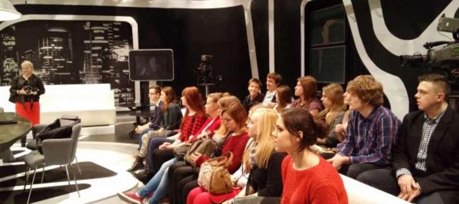 Wizyta w studiu TVP
