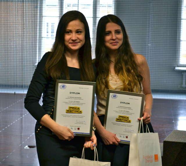 Dominika Brzozowska i Adrianna Gurzyńska
