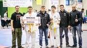 Zawodnicy z MKKK SHINKYOKUSHIN na podium