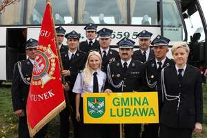Druhowie z miasta i gminy Lubawa na pielgrzymce do Jasnej Góry