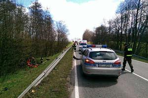 Policjanci poszukują świadków wypadku w którym zginął motocyklista
