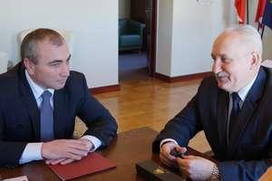 Ukraina: przewodniczący z Równego z pierwszą wizytą na Warmii i Mazurach