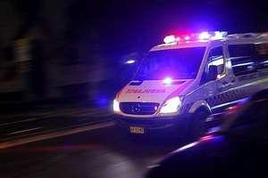 19-latek śmiertelnie porażony prądem. Wypił kilka piw i wszedł na słup trakcyjny