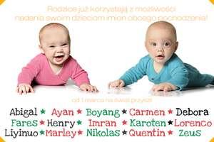 W Polsce przybywa imion obcego pochodzenia. Znamy najpopularniejsze