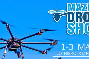 Drony na mazurskim niebie