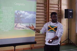 Wojciechy: Spotkanie z Everaldo Blake z Jamajki