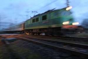 Wypadek pociągu relacji Gdynia - Olsztyn. Dwie osoby trafiły do szpitala