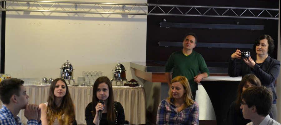 Spotkanie w Warszawie - Dominika Brzozowska opowiada o fanpage'u