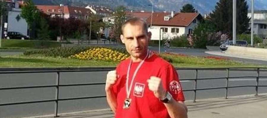 Wojciech Wiśniewski w Innsbrucku