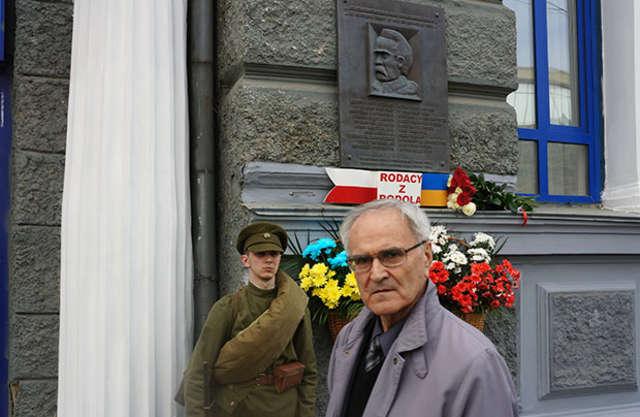 Winnica pamięta o sojusz Piłsudski-Petlura - full image