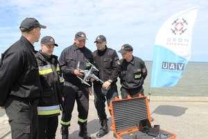 Dron ratownik w akcji
