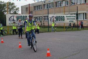 Uczniowie z Nidzicy drudzy w Wojewódzkim Turnieju Rowerowym