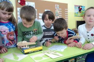 """Akcja """"Tydzień dla Ziemi"""" w przedszkolu w Kurzętniku"""
