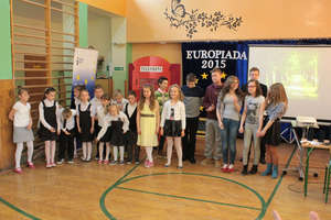 Europiada w szkole w Sątopach