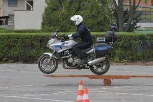Policjanci z drogówki rywalizują w Olsztynie