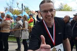 Życiówka Grześka w półmaratonie