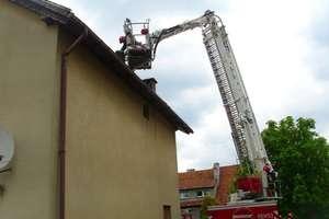 Tydzień pożarów i ewakuacja szkoły