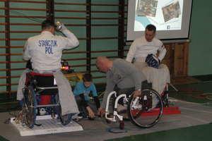 Paraolimpijczycy odwiedzili uczniów z gminy Świętajno