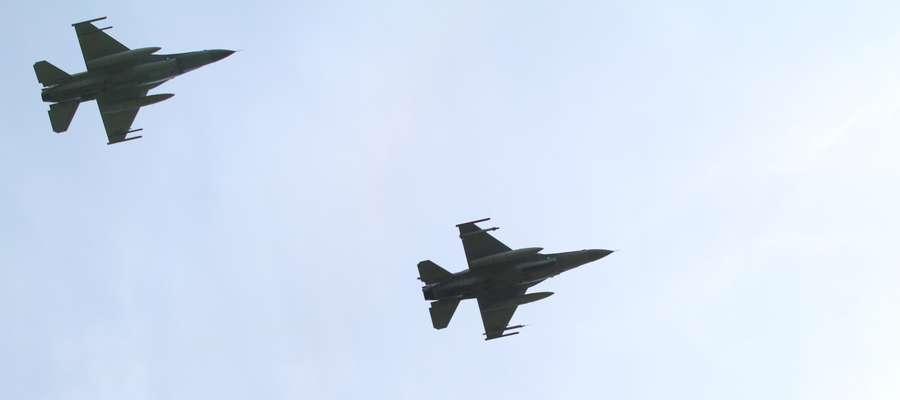 Jednym z elementów ćwiczenia jest epizod dotyczący naruszenia przestrzeni powietrznej RP przez statek powietrzny