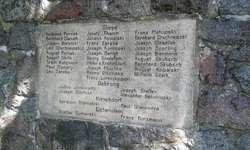Pomnik poległych i cmentarz katolicki w Ramsowie