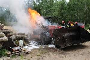 Klejnowo - pożar ładowarki
