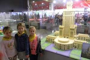 Maluchy zwiedzały wystawę z klocków LEGO w Gdańsku