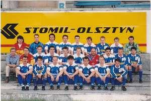 Pierwszy mecz Stomil rozegrał za miastem na Stadionie Leśnym