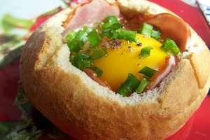 Jajka w chrupiących kokilkach