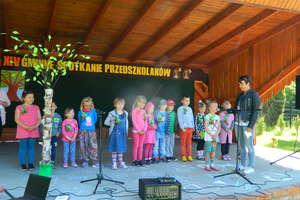 Gminne spotkanie przedszkolaków w Galinach