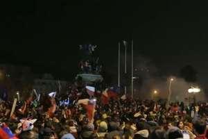 Chile w półfinale Copa America. Feta przerodziła się w zamieszki