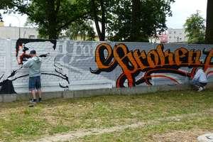 Broken Ball 2015 — nad Iławką powstaje graffiti. ZOBACZ ZDJĘCIA