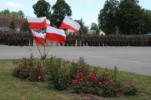Przyjęcie imienia patrona przez 9 Warmiński Pułk Rozpoznawczy