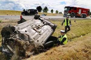 Wypadek na DK 16 pod Barczewem. 9 osób poszkodowanych w tym 5 dzieci