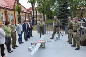 Posłowie Komisji Spraw Wewnętrznych oglądali drony latające przy granicy z Rosją