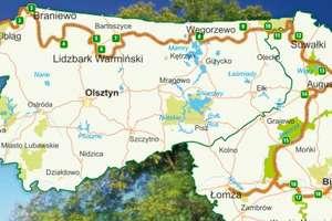 Wschodni Szlak Rowerowy w okolicy Węgorzewa już otwarty