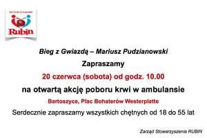 Oddaj krew w ambulansie