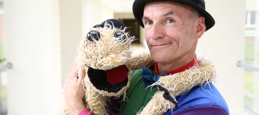 Piotr Boruta, aktor lalkarz, opowiada jak stworzył Czochera