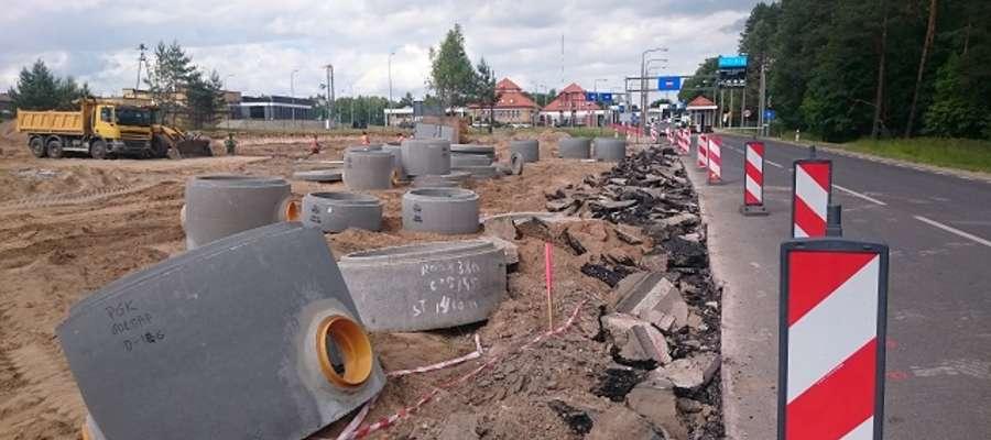 Prace nad przejściem drogowym w Gołdapi potrwają do końca września