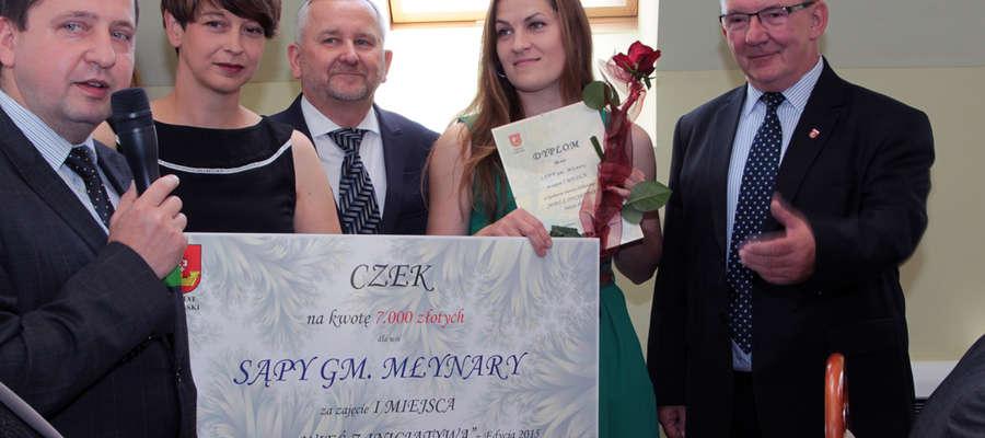 W ubiegłym roku konkurs wygrała wieś Sąpy