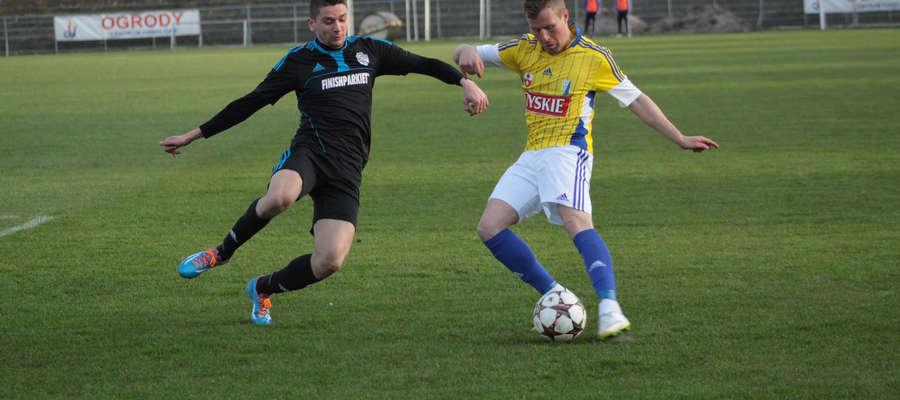 W III lidze piłkarze Finishparkietu Nowe Miasto Lubawskie musieli uznać wyższość dwóch Olimpii (z Elbląga i Zambrowa), wiec dzisiejszy jest dla nich szansą na uratowanie sezonu.