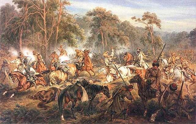 Juliusz Kossak, Bitwa pod Ignacewem, - full image