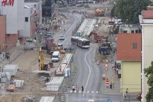 Tramwaje w Olsztynie: w weekend drogowcy otworzą ulice w centrum!