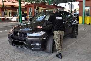 Strażnicy Graniczni zatrzymali skradzione BMW X6