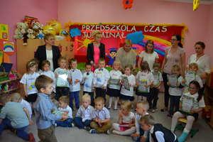 Pożegnanie czterolatków w Przedszkolu Gminnym Nr 1 w Bartoszycach