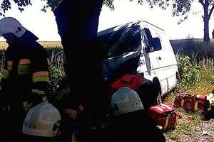 Poważny wypadek pod Suszem. Dwie osoby ranne