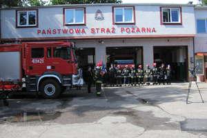 Uroczystość przekazania sprzętu dla strażaków PSP – Braniewo