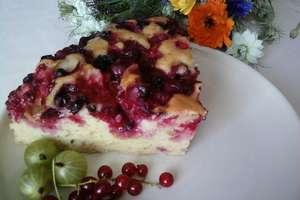 Ciasto półkruche z owocami