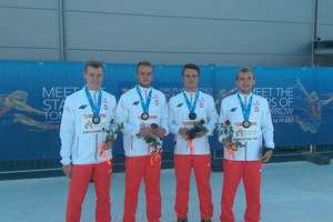 Przemysław Adamski srebrnym medalistą MEJ w biegu 4x100m!