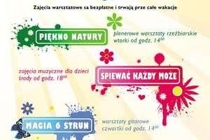 Wakacje z centrum kultury w Mszanowie